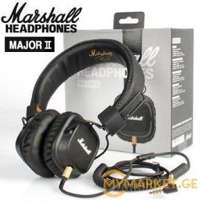 Marshall Major II - Wired (კაბელიანი)