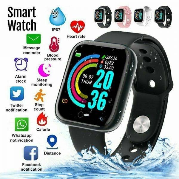 Y68 • Smart Watch - სმარტ საათი