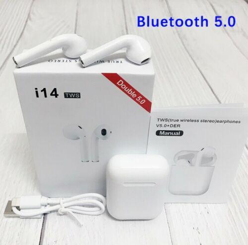 i14 TWS bluetooth ყურსასმენი